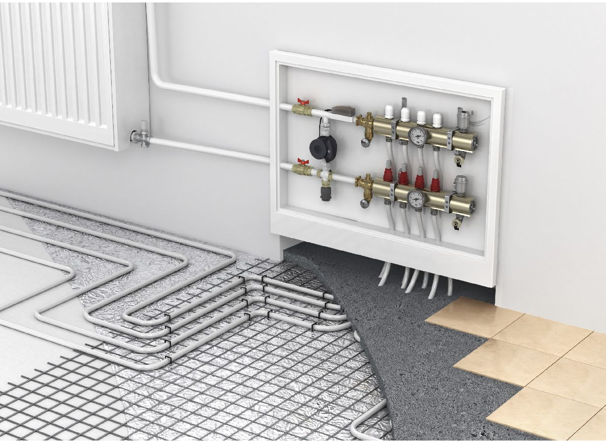 Radiant floor heating ottauquechee plumbing and heating for Best heating source for home